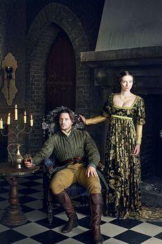 The White Queen - Season 1 - David Oakes and Eleanor Tomlinson