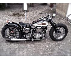Harley-Davidson, Panhead, 1200 ccm, 1955, 0 km, m.afgift
