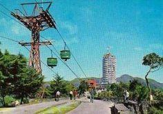 Hotel Humboldt, Caracas, en los años 50