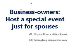 National Military Appreciation Month and Military Spouse Appreciation Day