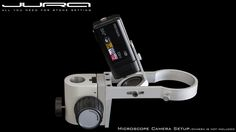 JURA Universal Camera Holder for the Microscope.  Designed and Made by JURA Tools!