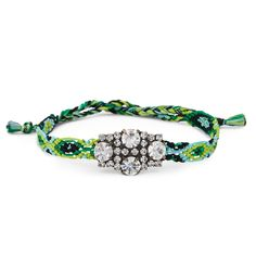 """Sole Society """"Mini Crystal Bracelet"""", $24.95.  I could make this."""