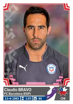 024 Claudio Bravo - Chile - Copa America Chile 2015 - PANINI