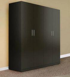 Japanese Furniture, Modern Furniture, Furniture Design, Modular Wardrobes, 4 Door Wardrobe, Principles Of Design, Home Room Design, Cabinet Styles, Engineered Wood