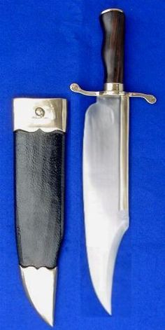 "A Handmade Historical Re-creation of the ""Musso"" Bowie Knife."