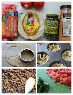 Mini Taco Bowls Recipe Ingredients