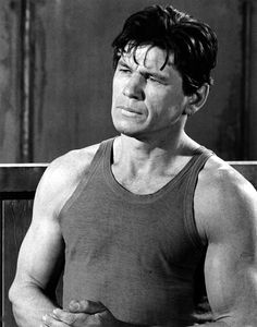 Charles Bronson in The Great Escape.