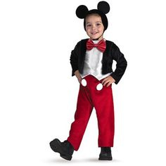 Mickey Mouse Toddler Halloween Costume