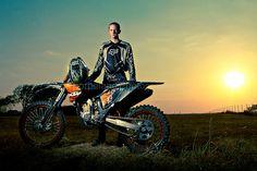 senior portrait with dirt bike - Google Search