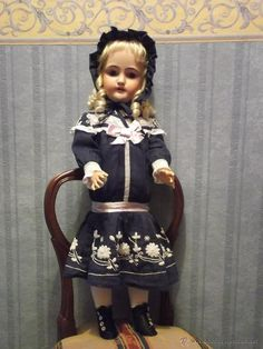 Antigua muñeca SIMON HALBIG/C.M BERGMANN antique doll