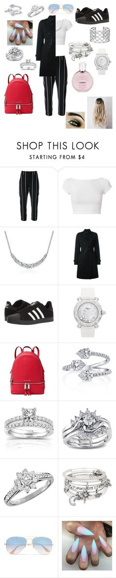 """Untitled #48"" by xclautjex ❤ liked on Polyvore featuring Brunello Cucinelli, Helmut Lang, Blue Nile, Burberry, adidas, Chopard, MICHAEL Michael Kors, Annello, Miadora and Tiffany & Co."