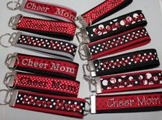 Machine Embroidery Designs SheSewChic: Embroidering on Ribbon for Key Fobs Brother Embroidery Machine, Machine Embroidery Projects, Machine Embroidery Applique, Learn Embroidery, Hand Embroidery, Embroidery Ideas, Viking Embroidery, Embroidery Machines, Applique Ideas