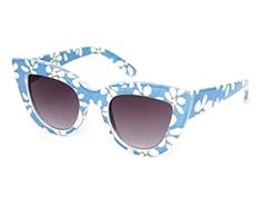 ASOS Cat Eye Sunglasses in Floral Print