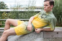 Eco-Elevation by Ted Sun for Male Model Scene