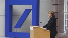 Staatshilfe für die Deutsche Bank?  Die Kanzlerin soll nein gesagt haben, die Bank hält die Debatte für unangebracht. Doch der Aktienkurs leidet, Milliardenstrafen drohen. Das sagt die internationale und deutsche Presse.