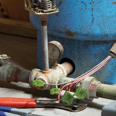 Replace a faulty well pump switch in about an hour; no special tools or skills required.