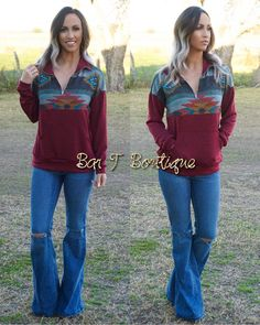 RESTOCK {{Pendleton Pullover ~ Burgundy}} Small•Medium•Large $35 *Free Shipping* To Purchase: visit www.bartboutique.com -OR- comment with your >>Size & Email (Spaced Out not including .com) to receive an INVOICE. Items are not held, therefore, Invoices need to be paid Immediately to ensure availability of the item/s. **INSTAGRAM IS HIDING COMMENTS WITH EMAIL ADDRESSES. PLEASE SPACE OUT YOUR EMAIL IN YOUR COMMENT. FOR EXAMPLE >>> Bartboutique at Gmail