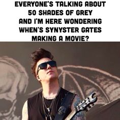 fifty shades of synyster gates