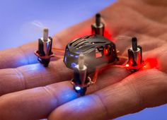 The world's smallest quadcopter!