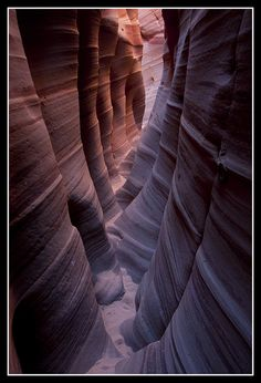 Utah, Zebra Canyon by stacey