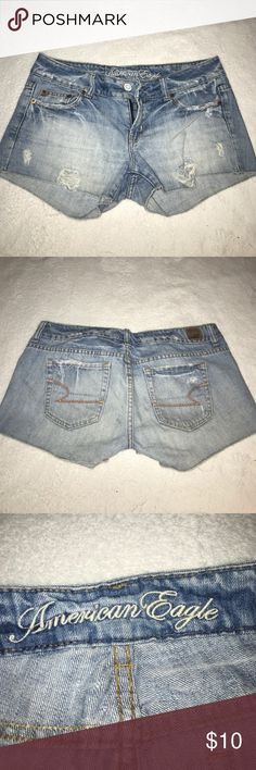 american eagle shorts size 4 shorts, in good condition American Eagle Outfitters Shorts Jean Shorts