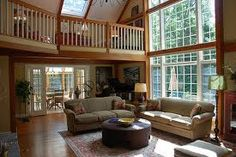 Love the floor to ceiling windows!