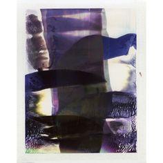Nickolas Lorieux  'Abstractions photosensibles', (2011-2015), Work etched on Polaroid Photo. #MeetNickolasBeforeLorieux #EarlyWork #ENSAD