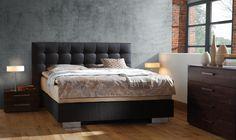Bett HASENA BOX-SPRING-Bett Frame Reca Sogno Box-Springbett Doppelbett - Wunderschöne Schlafzimmermöbel