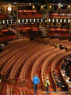 Wow - the theatre on Celebrity Reflection, the new cruise ship from Celebrity Cruises