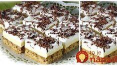 Nanukové rezy: Perfektný zákusok, ktorý chutí úplne ako zmrzlina! Tiramisu, Cheesecake, Baking, Ethnic Recipes, Sweet, Food, Basket, Candy, Cheesecakes