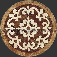 I like the pattern of this medallion !