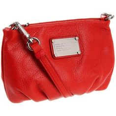 Marc by Marc Jacobs D4 Cls Q Percy Shoulder Bag,Cherry Red,One Size