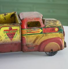 lovely toy truck