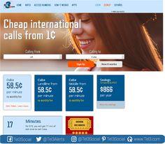 Te ofrecemos a través de #Tel3 las tarifas más económicas para llamar a #Cuba, en la imagen lo puedes comprobar o a través de nuestra página web www.tel3.com