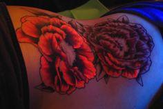 Beautifully done UV tattoo