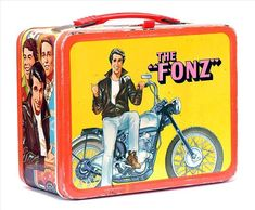 Antique Lunch Boxes | The Fonz Vintage 1976 Lunch Box - Lunch Boxes Photo (2585744) - Fanpop ...