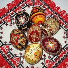 The tradition of egg decoration in Slavic cultures originated in pagan times, and was transformed by the process of religious syncretism into the Christian Easter egg.