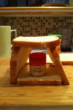Lazy person Gingerbread House