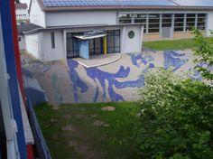 #Schulhofprojekt 2, #Pfungstadt, #Kunst