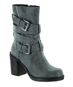 Charcoal McLaren Stacie Boot by Rocket Dog