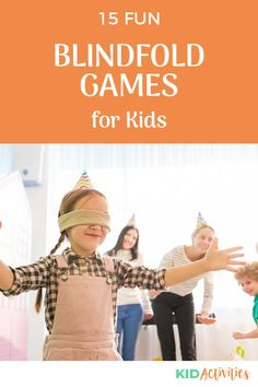 A collection of fun blindfold games for kids. These games are great for parties of all types including birthday parties. #KidActivities #KidGames #ActivitiesForKids #FunForKids #IdeasForKids Outdoor Games For Kids, Fun Games For Kids, Games For Toddlers, Indoor Activities For Kids, Kid Activities, 29th Birthday Parties, Blindfold Games, Carnival Party Supplies, Summer Party Games