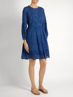 Click here to buy Sea Gibson broderie-anglaise cotton dress at MATCHESFASHION.COM