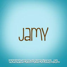 Jamy (Voor meer inspiratie, en unieke geboortekaartjes kijk op www.heyboyheygirl.nl)