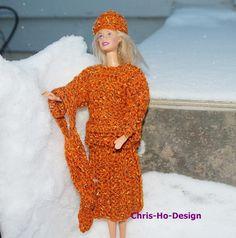 4-delt barbiesett Barbie, Dresses With Sleeves, Long Sleeve, Sweaters, Design, Fashion, Moda, Sleeve Dresses, Long Dress Patterns
