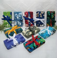 Party Favors 10 Aloha Tissue Cozies Tropical Island by loneweever, $31.50