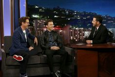 Game Night special edition episodes air in primetime every night of the NBA Finals. The guest for Sunday, June 4 included Robert Downey Jr and Tom Holland ('Spiderman: Homecoming'). Videogames, Jimmy Kimmel Live, Robert Downey Jr, Tom Holland, Live Action, Homecoming, Spiderman, Avengers, Toms