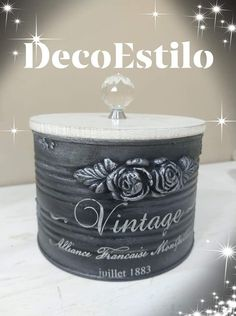 1 million+ Stunning Free Images to Use Anywhere Painted Tin Cans, Tin Can Art, Fabric Covered Boxes, Silverware Holder, Recycle Cans, Plaster Art, Tin Can Crafts, Iron Orchid Designs, Mini Glass Bottles