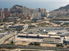 La Marina shopping centre in Benidorm