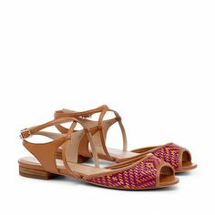 Sole Society - Woven detail sandals - Mellissa - Natural Multi