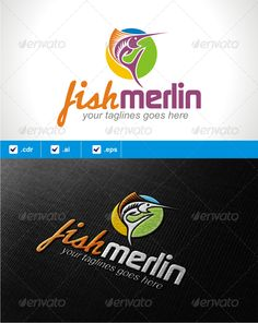 FishMerlin  #GraphicRiver        Logo template suitable for businesses and product names. Easy to edit, change size, color and text. CMYK Ai, cdr and EPS formats fully editable Main Font used : continuum and Classic Raw you can found here :  .dafont /continuum.font  .dafont /classic-raw.font     Created: 13April13 GraphicsFilesIncluded: VectorEPS #AIIllustrator #CorelDRAWCDR Layered: No MinimumAdobeCSVersion: CS Resolution: Resizable Tags: fish #fisherman #fishing #marlin #merlin #outdoor…